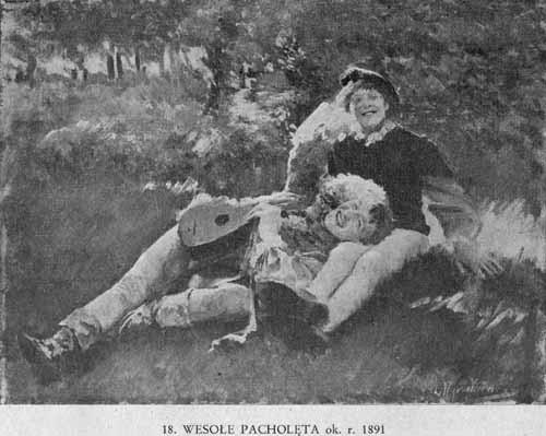 Wyczółkowski Leon, Wesołe pacholęta