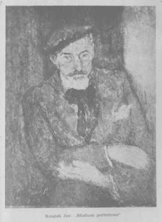Książek Jan, Studium portretowe, s.55