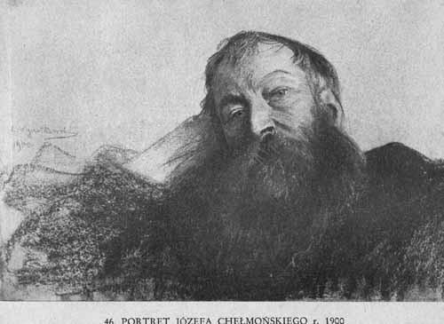 Wyczółkowski Leon, Portret Józefa Chełmońskiego