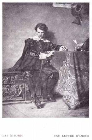 Czachórski Władysław, List miłosny