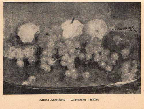 Karpiński Alfons, Winogrona i jabłka, s.57