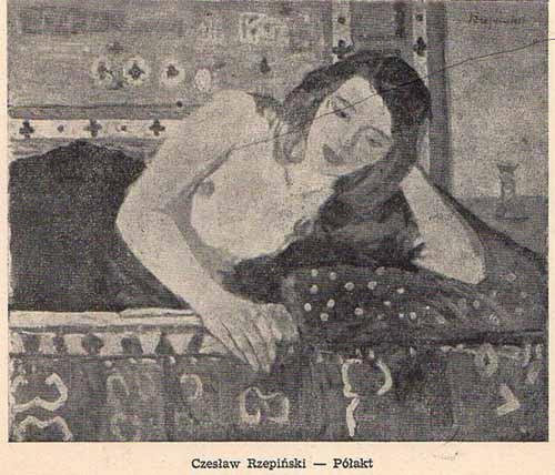 Rzepiński CZesław, Półakt, s.57