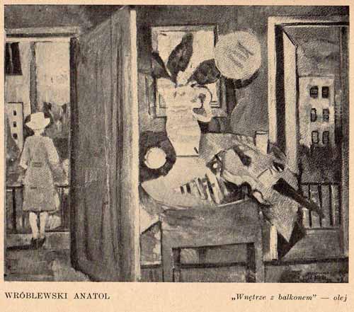 Wróblewski Anatol, Wnętrze, s.warszawski