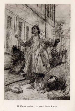 Chełmoński Józef, Chłop modlący się