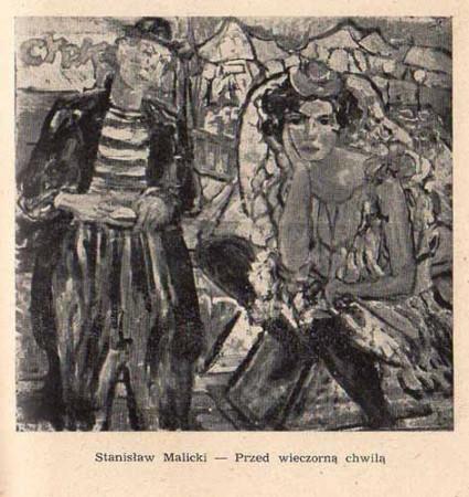 Malicki Stanisław, Przed wieczorna chwilą, s.57