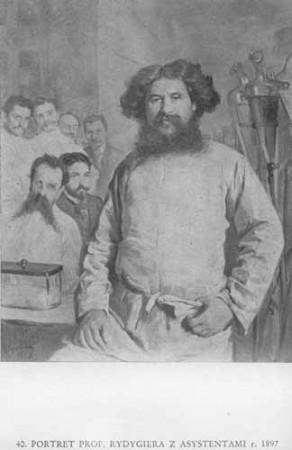 Wyczółkowski Leon, Portret prof. Rydygiera