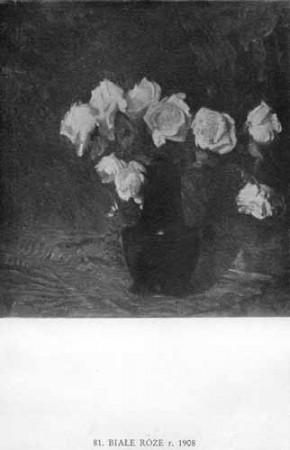 WYczółkowski Leon, Białe róże