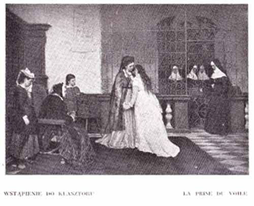 Czachórski Władysław, Wstąpienie do zakonu
