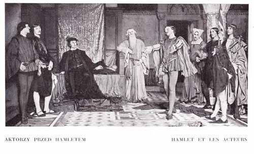 Czachórski Władysław, Aktorzy przed Hamletem