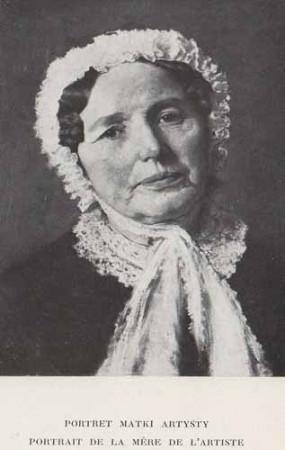 Czachórski Władysław, Portret matki artysty