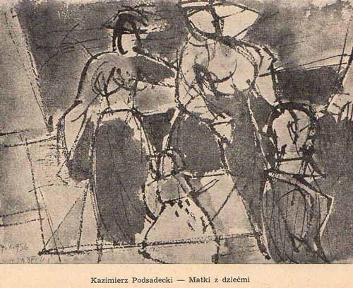 Podsadecki Kazimierz, Matki z dziećmi, s.57