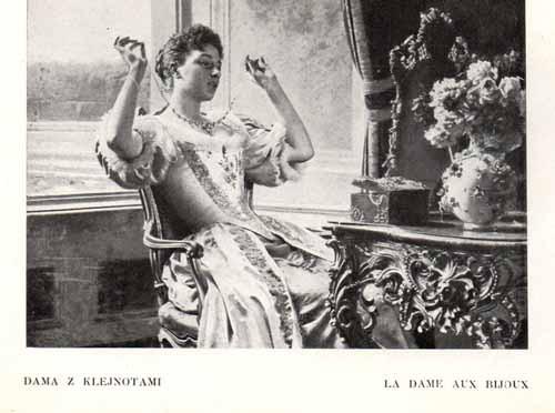 Czachórski Władysław, Dama z klejnotami