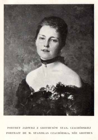 Czachórski Władysław, Portret Jadwigi
