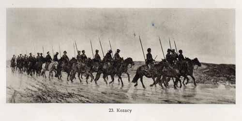Chełmoński Józef, Kozacy