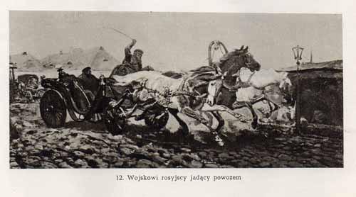 Chełmoński Józef, Wojskowi rosyjscy
