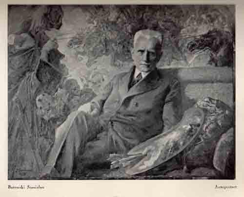 Batowski Stanisław,Autoportret, s.37