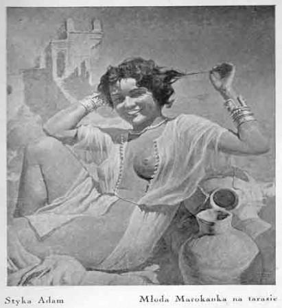 Styka Adam, Młoda Marokanka, s.37