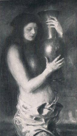 Axentowicz Teodor Dziewczyna z wazonem