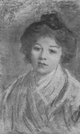 Wyczółkowski Leon, Portret Przybyłko-Potockiej