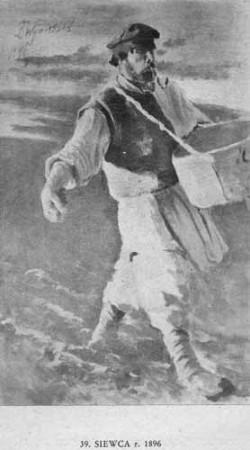 Wyczółkowski Leon, Siewca