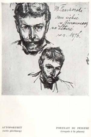 Czachórski Władysław, Autoportret