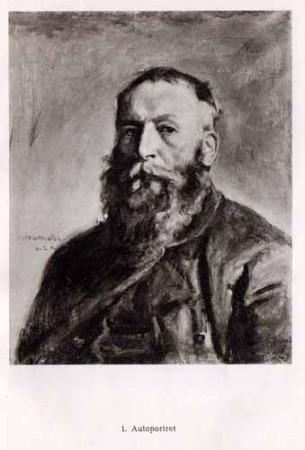 Chełmoński Józef, Autoportret