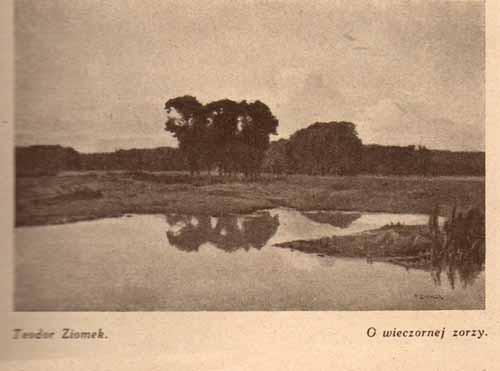 Ziomek Teodor, O wieczornej zorzy, s.29