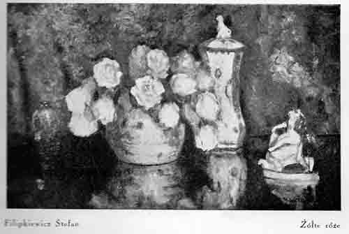 Filipkiewicz Stefan, Żółte róże, s.37