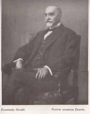 Gorski Konstanty, Portret senatora Ewerta, s.28