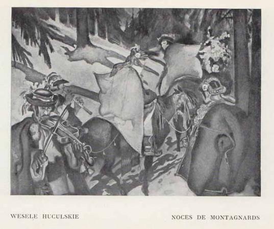 Kazimierz Sichulski Wesele huculskie