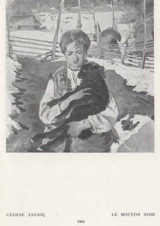 Kazimierz Sichulski Czarne jagnie