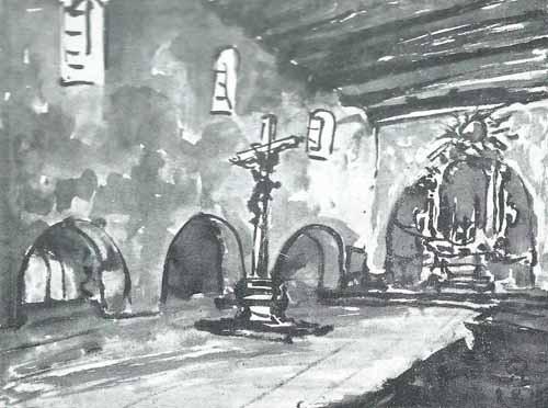 Noakowski Stanisłąw Wnętrze klasztoru - monografia Noakowski