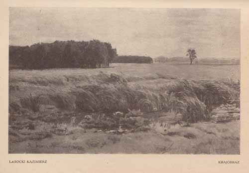 Lasocki Kazimierz, Krajobraz, s.24,25