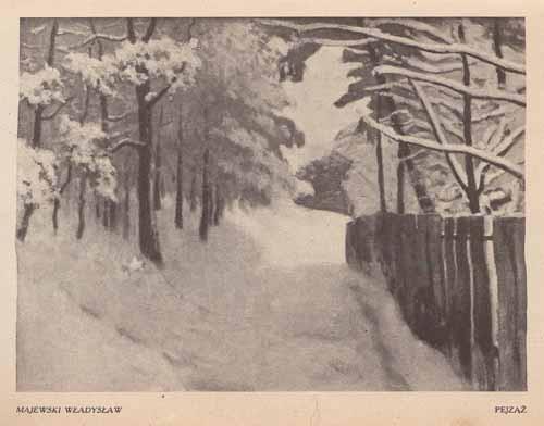 Majewski Władysław, Pejzaż, s.24,25