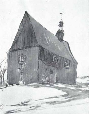 Noakowski Stanisław Kościół wiejski drewniany - monografia Noakowski