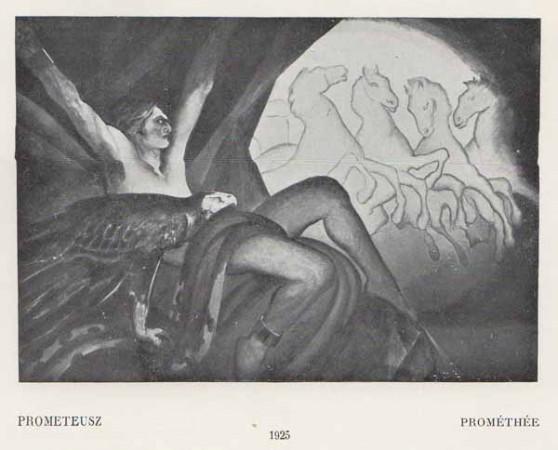 Kazimierz Sichulski Prometeusz