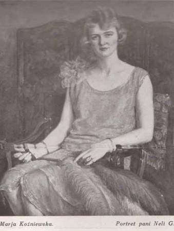 Koźniewska Maria, Portret p. Neli, s.28