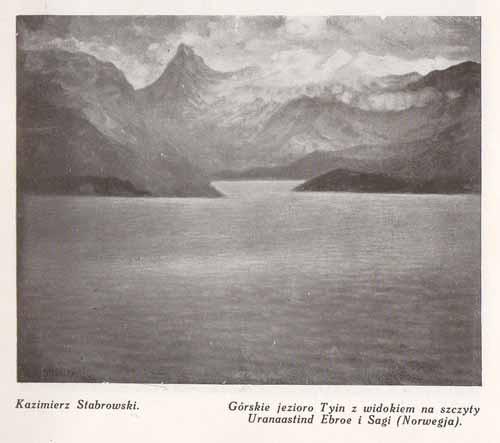Stabrowski Kazimierz, Jezioro Tyin, s.28