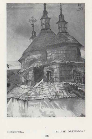 Kazimierz Sichulski Cerkiewka