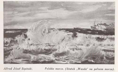 Sipiński Alfred Józef, polskie morze, s.28