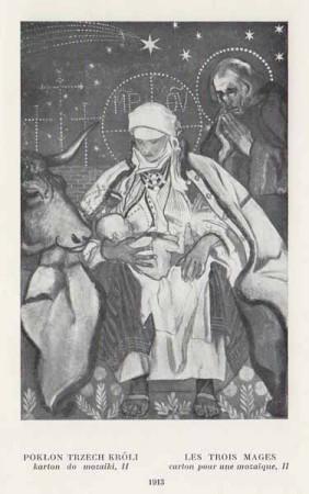 Kazimierz Sichulski Pokłon Trzech Króli II