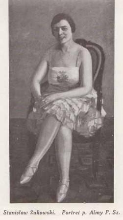 ukowski Stanisłąw, Portret p. Almy, s.28