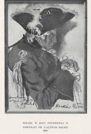 Kazimierz Sichulski Solski w roli Fryderyka II