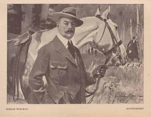 Kossak Wojciech, Autoportret, s.24,25