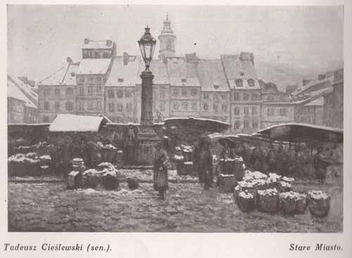 Cieślewski Tadeusz sen, Stare Miasto, s.28