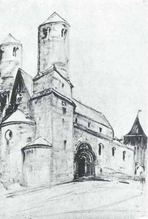 Noakowski Stanisłąw Kościół romański - monografia Noakowski