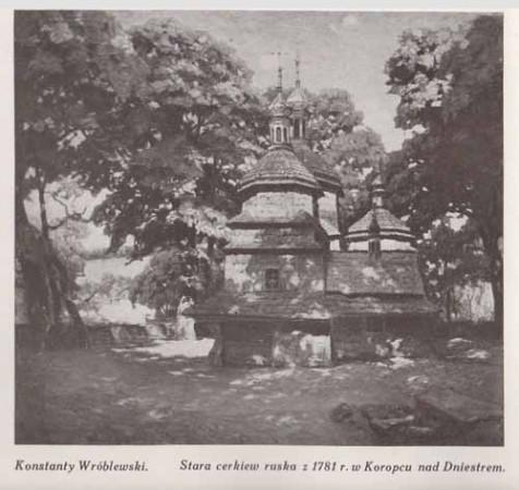 Wróblewski Konstanty, Stara cerkiew, s.28