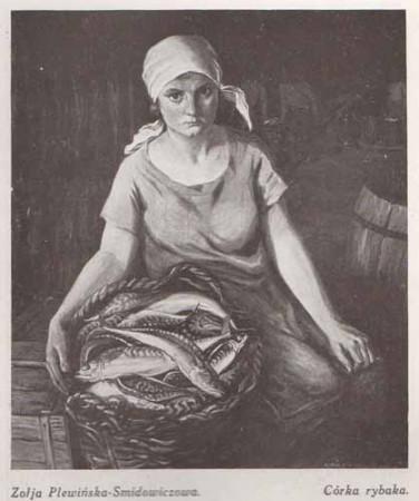 Plewińska-Smidowiczowa Zofia, Córka rybaka, s.28