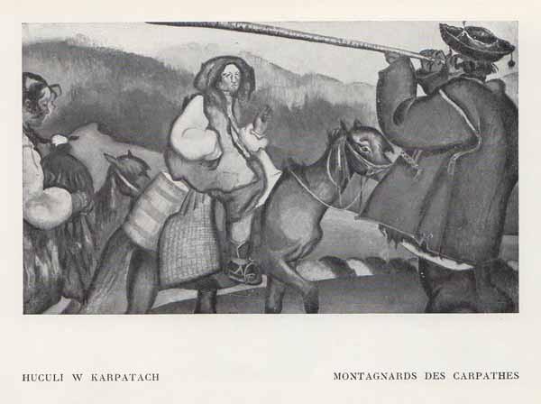 Kazimierz Sichulski Huculi w Karpatach