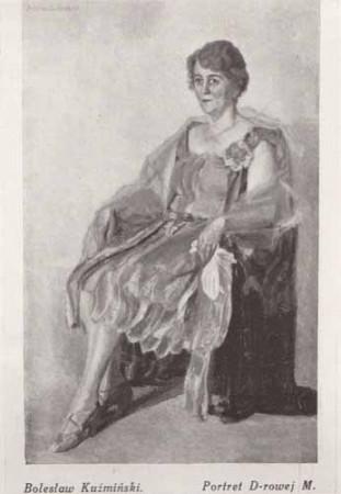 Kuźmiński Bolesław, Portret D-rowej M., s.28